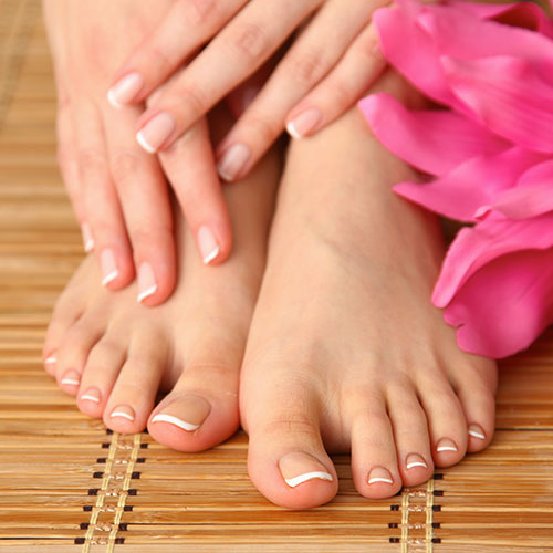 pedicure nail services